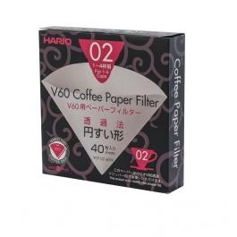 Filtry papierowe do dripa Hario V60-02