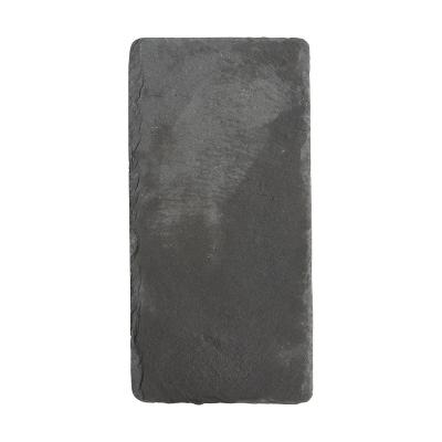 prostokatna deska do serwowania z łupka 12x20cm