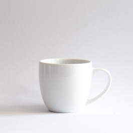 Mug 300ml with heart saucer *Your text*