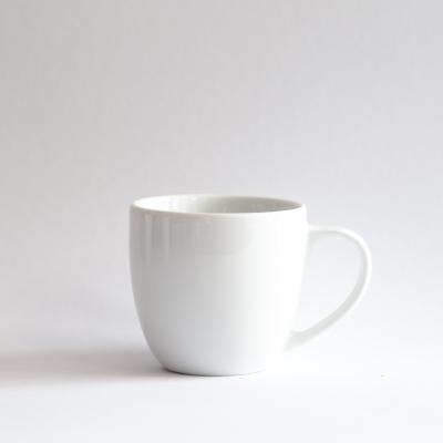 Mug 300ml with heart saucer *Your text*