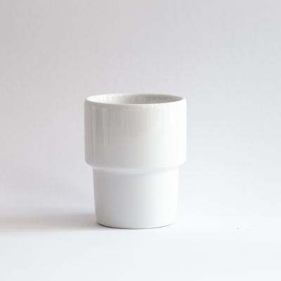 1. Mug without handle 300ml with saucer *Your text*