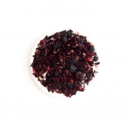 Fruit tea with blueberries, rose and black elderberry Jar 80g