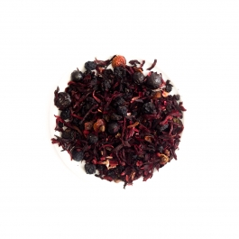 Fruit tea with cherry and chokeberry Jar 80g