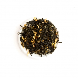 Herbata BIAŁA Z SZAFRANEM słoik 70g