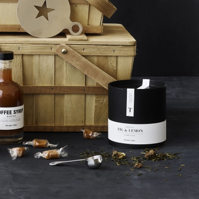 Nicolas Vahe TEA Herbata Zielona z Figą i Cytryną
