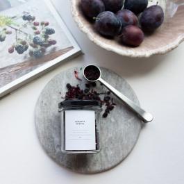 Herbata owocowa WIŚNIA słoik 80g