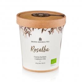ROSALBA - CZARNA HERBATA Z PĄKAMI RÓŻY BROWN HOUSE & TEA