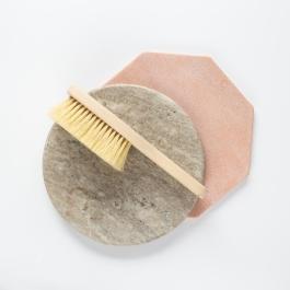 Szczotka do masażu ciała z rączką