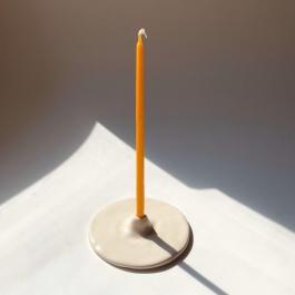 ŚWIECZNIK PIECZARKOWY do świeczek SLIM